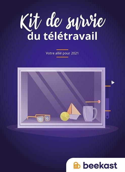 Image : kit de survie du télétravail